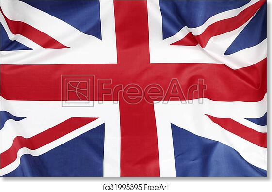 picture relating to Printable British Flag called Cost-free artwork print of British flag