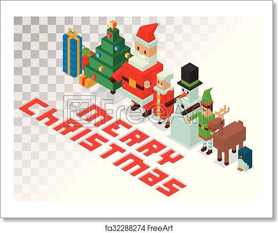 7f1b79e3c353 Free art print of Santa