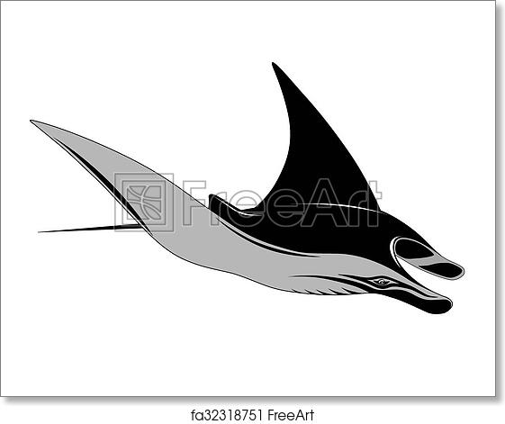 f7bcb7a68 Free art print of Manta Ray. Manta Ray in the form of a tattoo ...