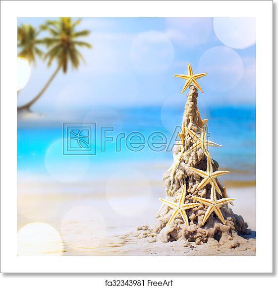 Tropical Christmas.Free Art Print Of Art Tropical Christmas Holiday