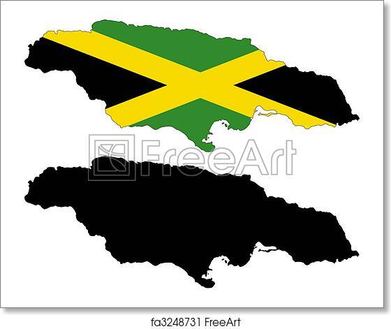 Free art print of Jamaica