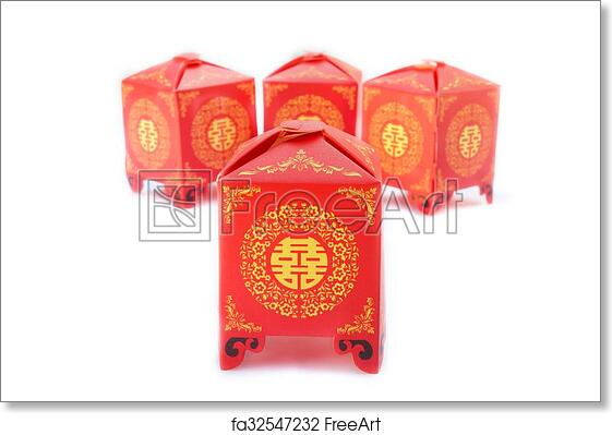 Free Art Print Of Chinese Wedding Symbol Of Double Happiness