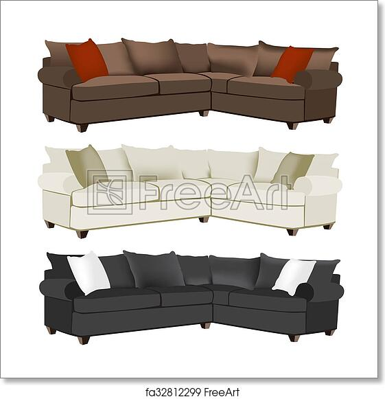 Admirable Free Art Print Of Modern Sectional Sofa Caraccident5 Cool Chair Designs And Ideas Caraccident5Info