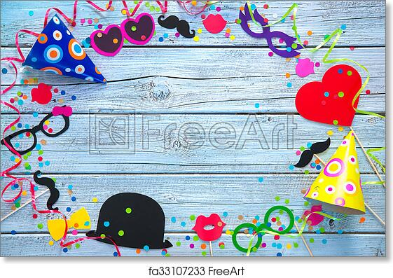 free art print of carnival background colorful background with