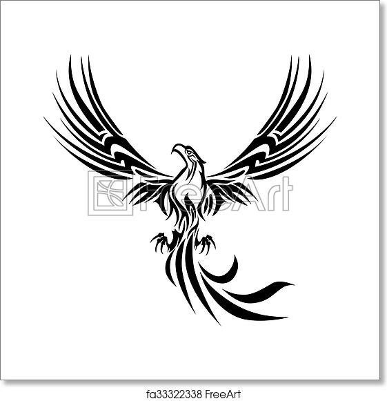 Free Art Print Of Phoenix Tattoo Illustrations Of A Concept Myth