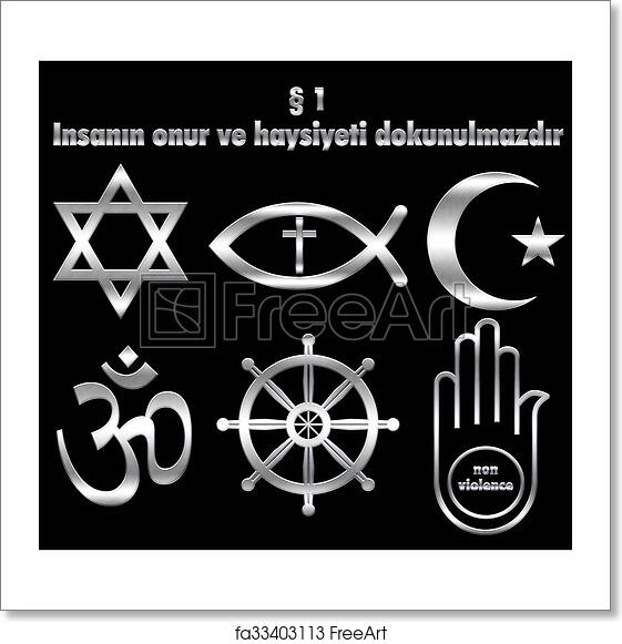 Free Art Print Of Human Dignity Human Dignity And World Religions