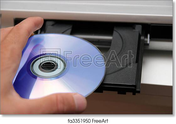 free art print of insert cd on cd player details insert cd on cd