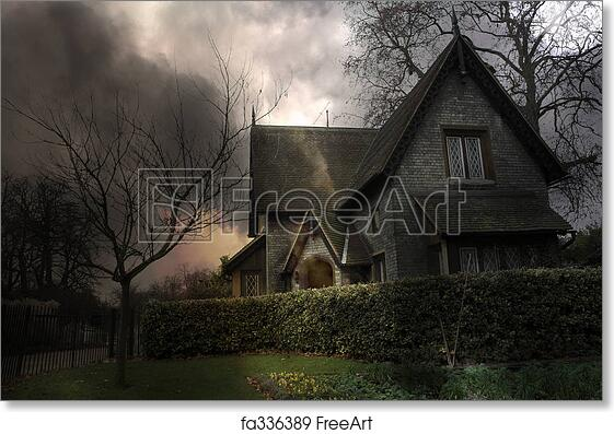 Free art print of Haunted House #3