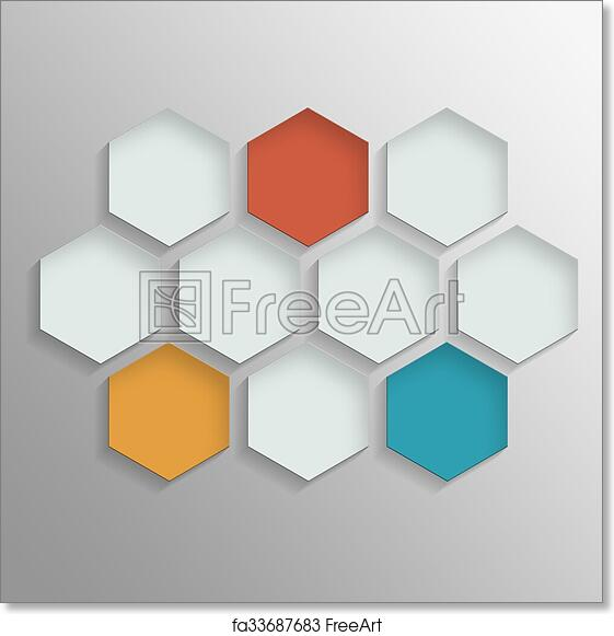 free art print of octagon template layout octagon template layout