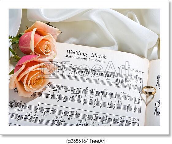 Free Art Print Of Wedding Song