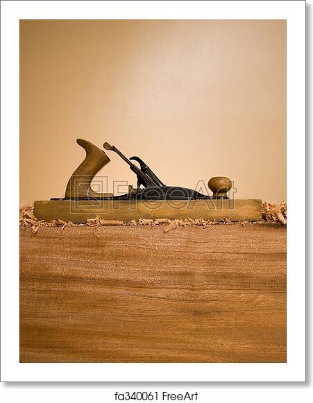 Free art print of Wood Plane Profile