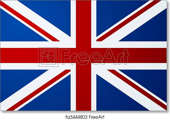 graphic about Printable British Flag titled Free of charge artwork print of United kingdom (british) flag