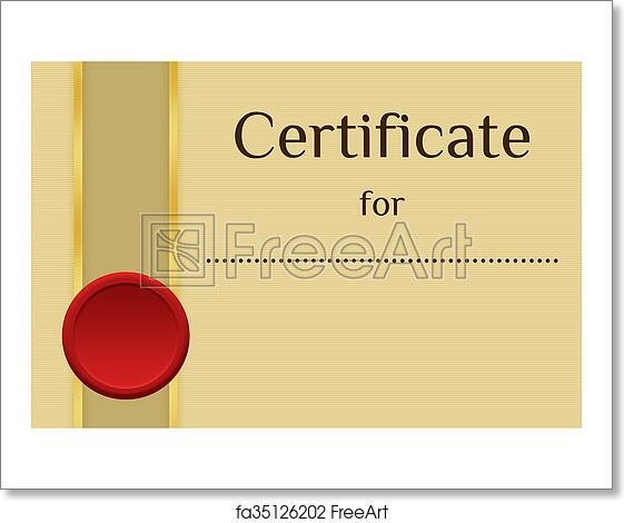 Free art print of Blank Certificate Background   FreeArt   fa35126202