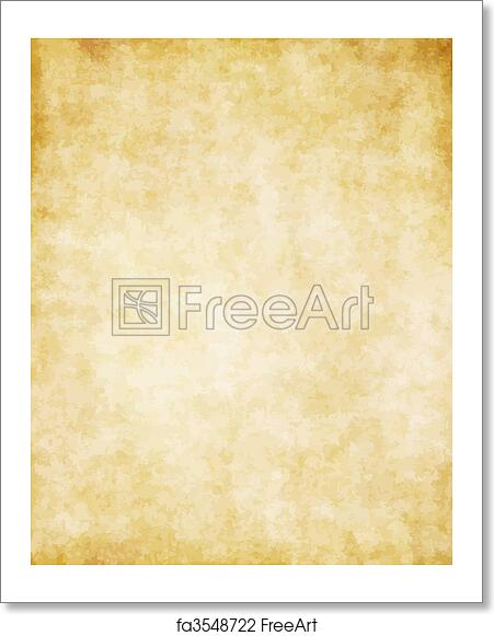 free art print of great background of old parchment paper texture