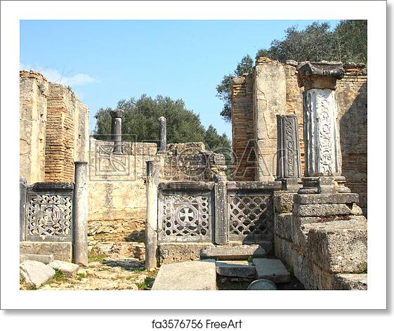 Free Art Print Of Ancient Olympia. Ancient Olympia The