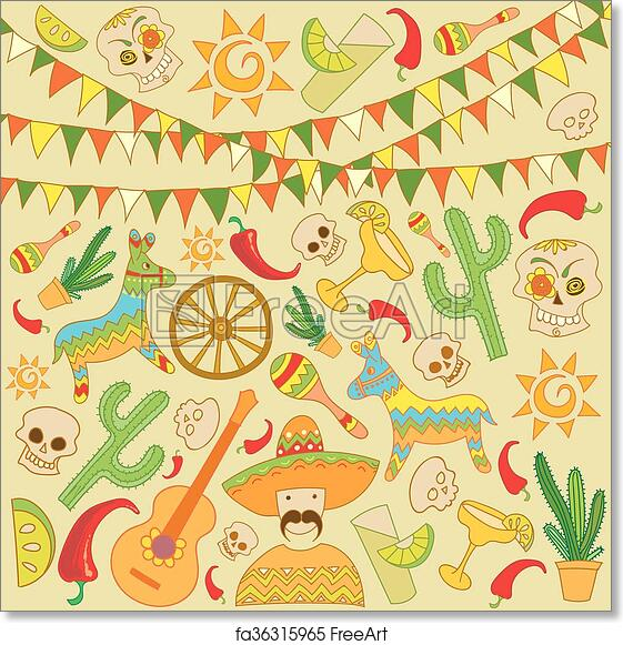 Free Art Print Of Cinco De Mayo Background