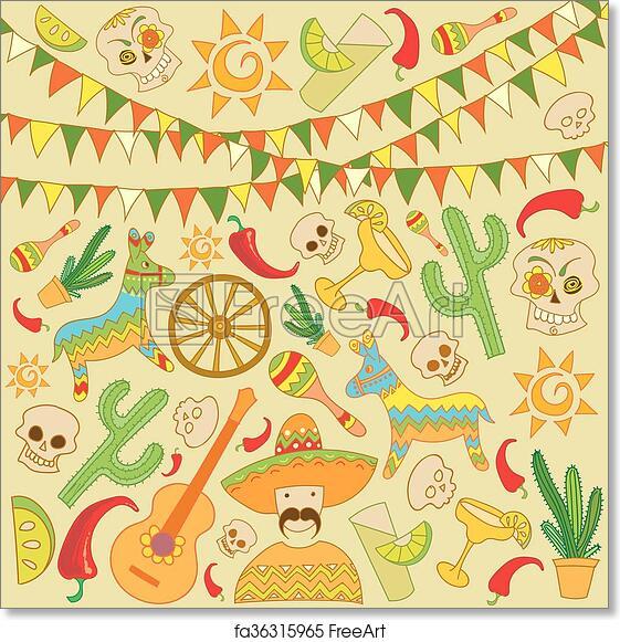 Free Art Print Of Cinco De Mayo Background