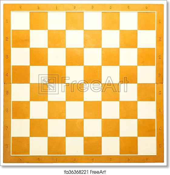 image regarding Printable Chess Board identify Totally free artwork print of Chess board