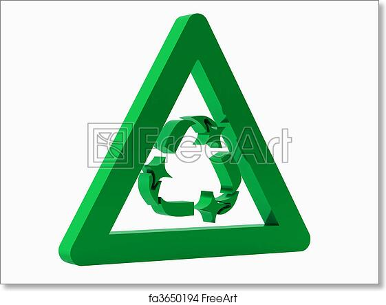 photograph regarding Printable Recycling Signs named Cost-free artwork print of Recycling Emblem