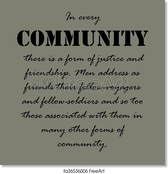 Community Quotes Beauteous Free Art Print Of Aristotle Quotesin Every Community There.in
