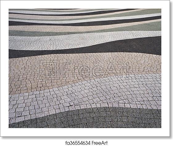 Free Art Print Of Modern Pavement Texture Modern Pavement Texture Abstract Textured Background Freeart Fa36554634