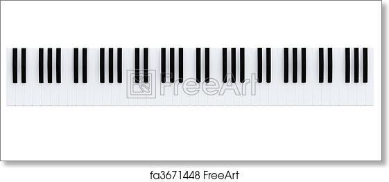 piano keys images free