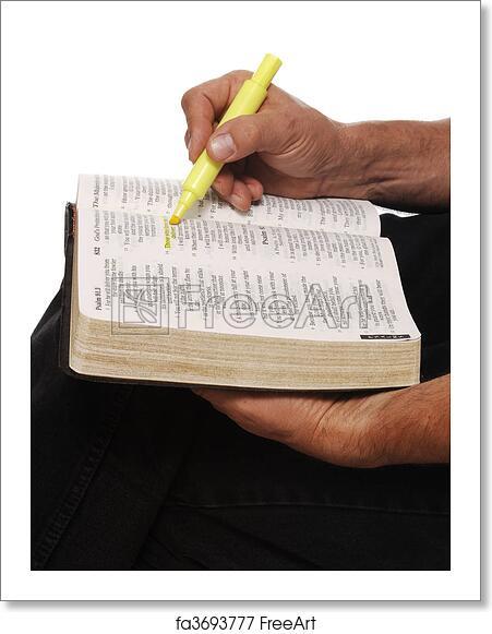 Free art print of Bible Study