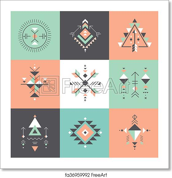Free Art Print Of Esoteric Alchemy Sacred Geometry Tribal And