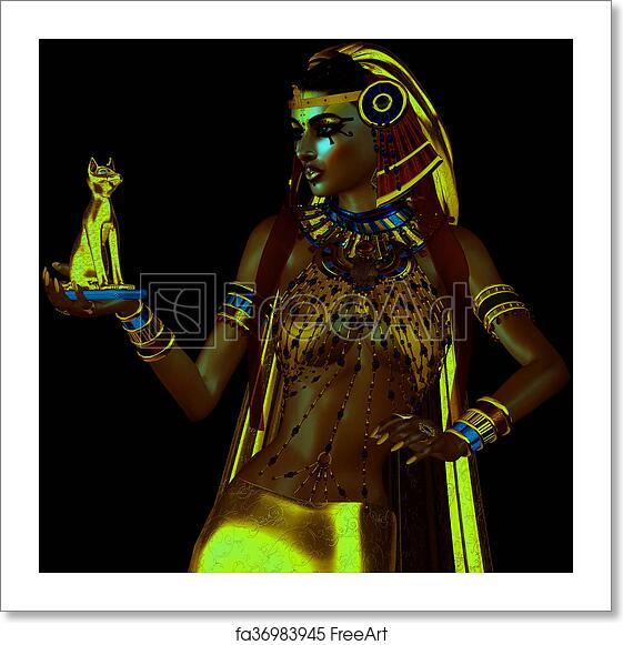 Free art print of Egyptian Bast