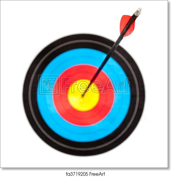 photograph regarding Printable Archery Targets known as Totally free artwork print of Focus archery