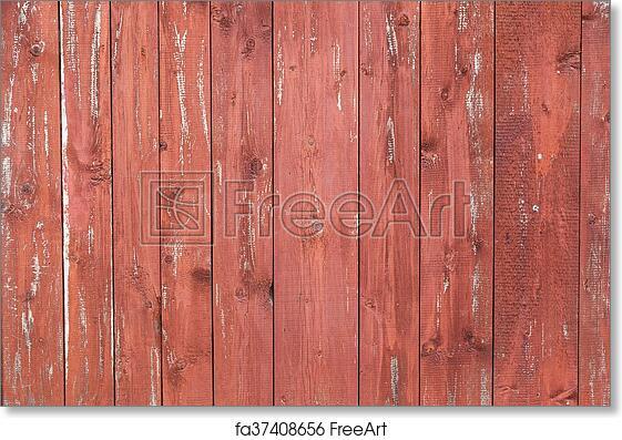 Free Art Print Of Rustic Weathered Barn Wood Background