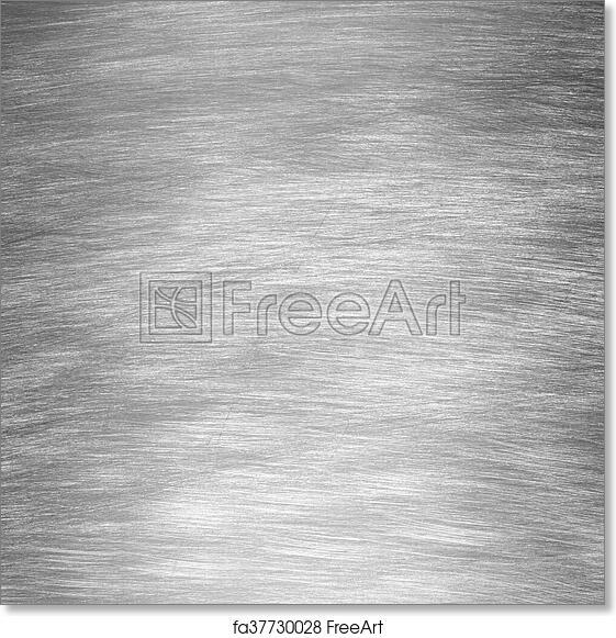 Free Art Print Of Sheet Metal Silver Solid Black Background Sheet