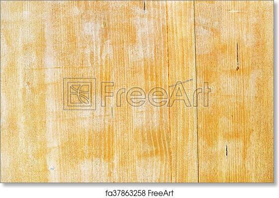 Free art print of Hardwood board texture painted with acrylic paint