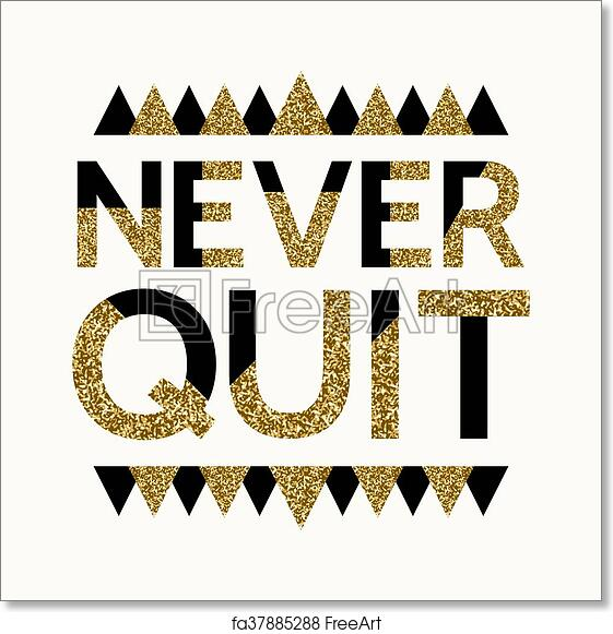 Free art print of Motivational Quote Poster