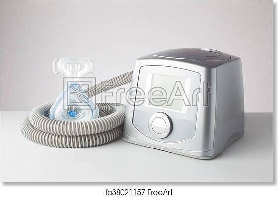 Free art print of Sleep Apnea CPAP machine