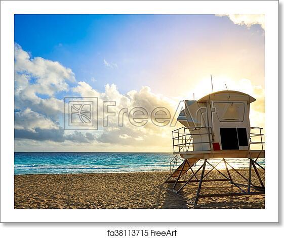 Free Art Print Of Fort Lauderdale Beach Sunrise Florida Us Fort
