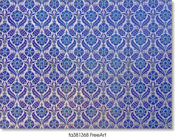 Free art print of Islamic tiles