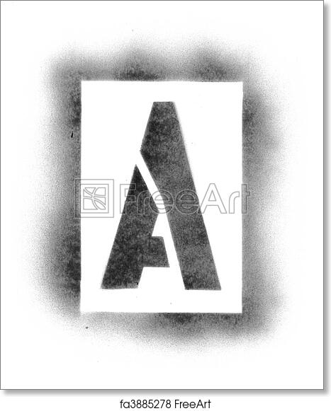 Free art print of stencil letters in spray paint freeart fa3885278 free art print of stencil letters in spray paint spiritdancerdesigns Images