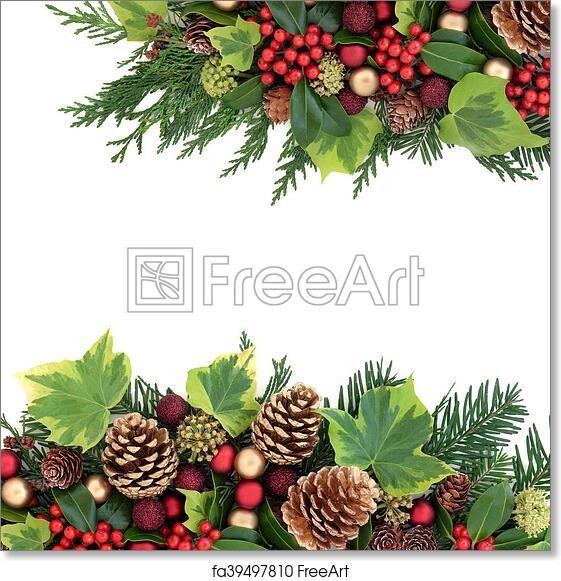 Christmas Boarder.Free Art Print Of Christmas Border