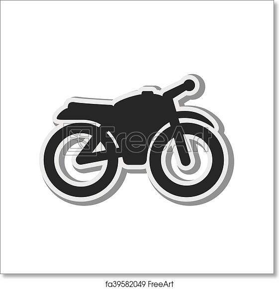 Free Art Print Of Motorcycle Vehicle Silhouette Transport Vehicle