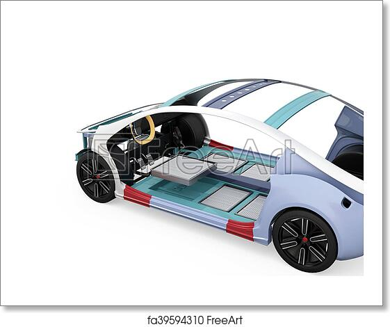 Free art print of Electric vehicle body frame. Electric vehicle body ...