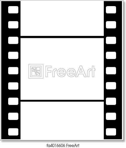 Free art print of Cine film blank frame. Artwork of cine film frame ...