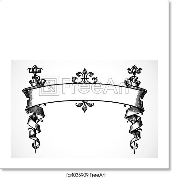 Free Art Print Of Vector Scroll Banner Highly Detailed Vector Scroll Ornament Easy To Edit Freeart Fa4033909 When the page is scrolled down, the banner also needs to scroll with the page again. free art print of vector scroll banner