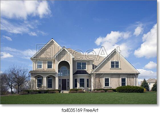 Luxury Suburban House