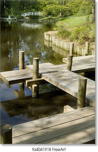 Free Art Print Of Japanese Zen Garden Japanese Zen Garden Boardwalk
