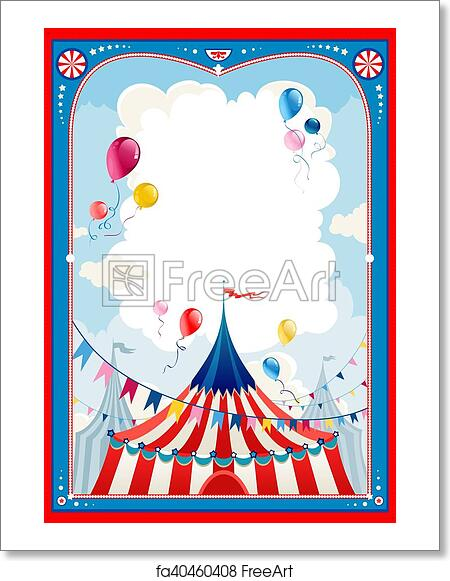 Free art print of Circus frame. Circus frame with space for text ...