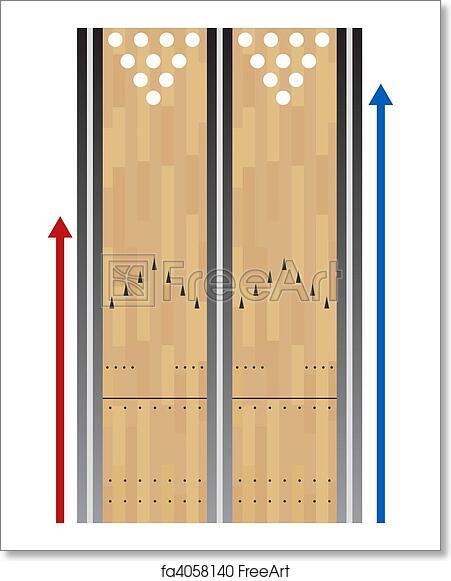 bowling lane chart