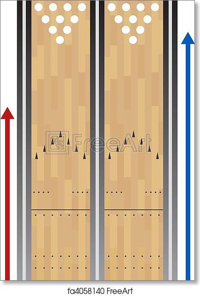 picture regarding Printable Bowling Lane Diagram known as Totally free artwork print of Bowling Lane Chart