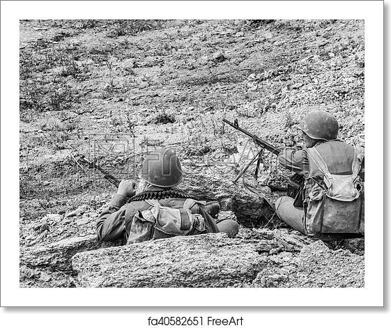 Free art print of Soviet Spetsnaz in Afghanistan