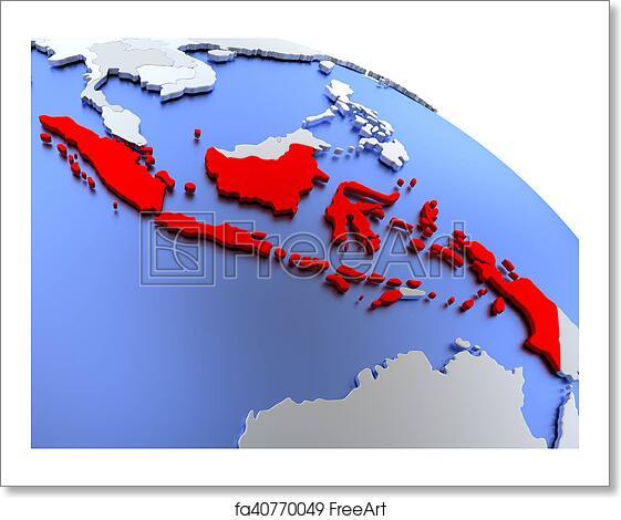 Free art print of Indonesia on world map Indonesia World Map on norway world map, singapore world map, japan world map, madagascar world map, vietnam world map, melanesia world map, afghanistan world map, dr congo world map, iran world map, jordan world map, saudi arabia world map, pakistan world map, england world map, united kingdom world map, china world map, iraq world map, malaysia world map, myanmar world map, cape of good hope world map, india world map,